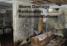 Storm Damage Restoration Recommendations