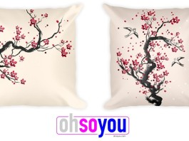 designer printed pillows
