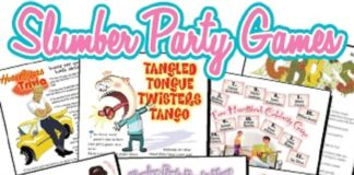 Most Popular Printable Party Games