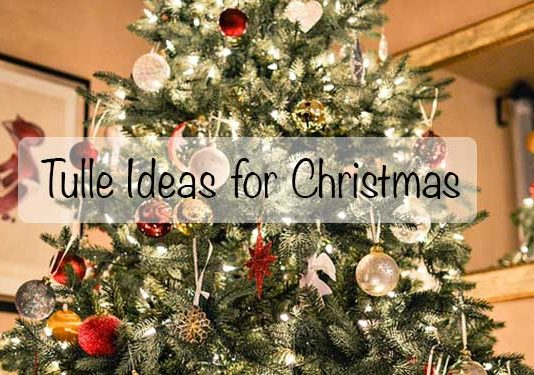 Tulle Ideas for Christmas