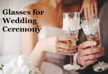 Customized and Printed Wedding Glasses