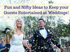 keep your guests entertained