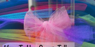 Use Scrap Tulle To Make Creative Things