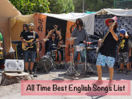 All Time Best English Songs