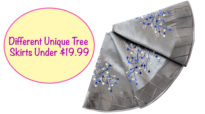 Different Unique Tree Skirts