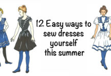 Easy ways to sew dresses