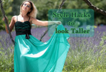 style hacks to look taller