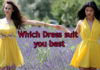 which dress suit you best