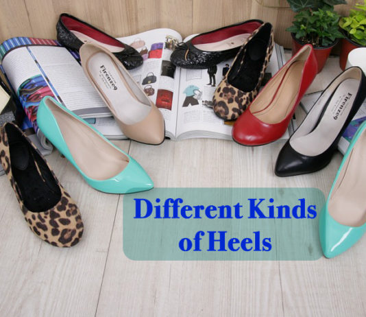 Different kinds of Heels